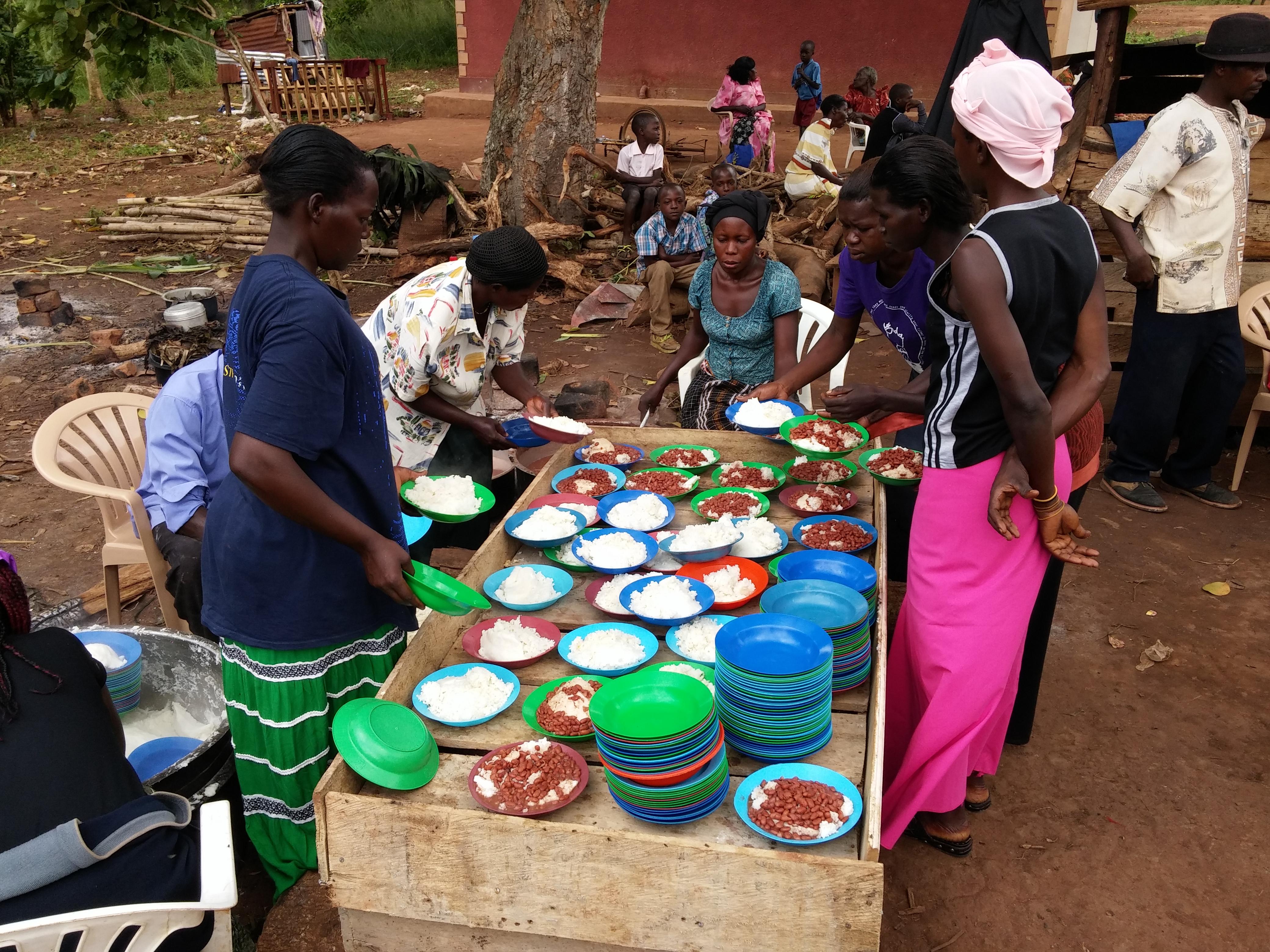 Sponsorship Program Provides Meals for the School Children
