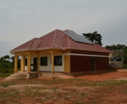Medical Clinic with New Solar Panel