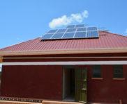 New Solar Panels on the Kitchen