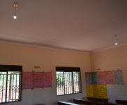 Classroom with New Electrical Working Lights