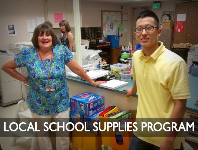 Album: Local School Supplies Program