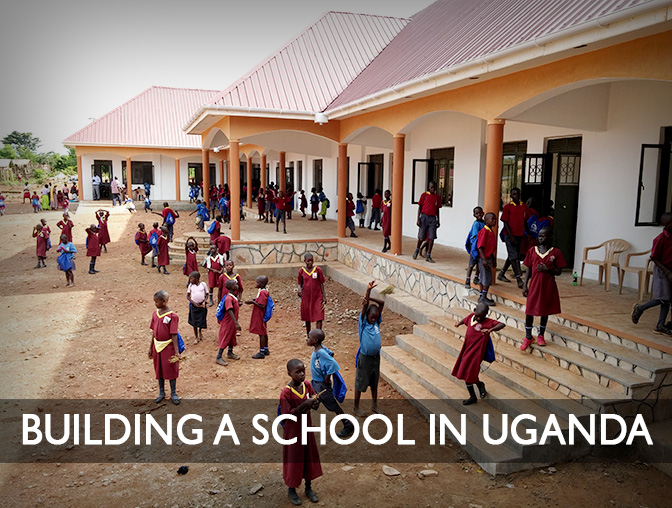 Album: Building a School In Uganda