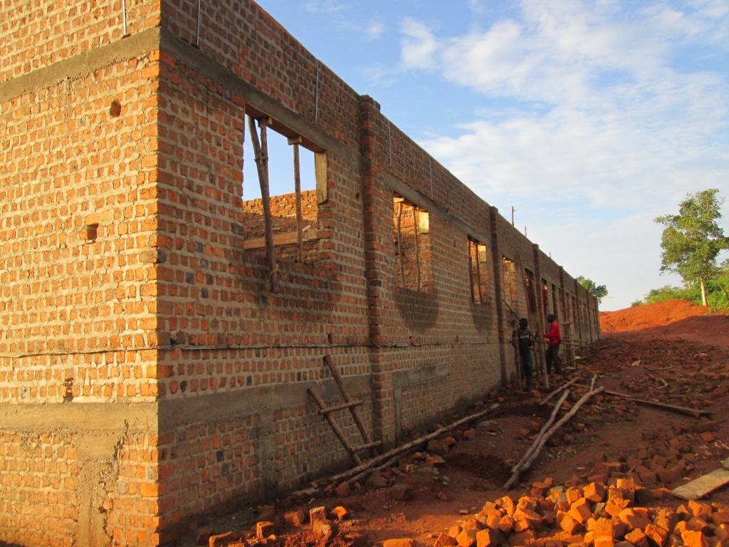 Ndagga school construction2